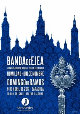 Acompañamiento musical el Domingo de Ramos en Zaragoza