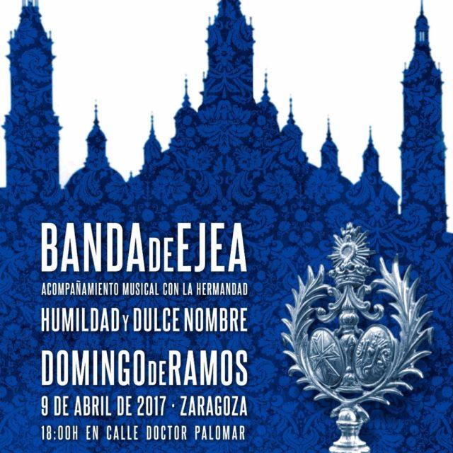 ACOMPAÑAMIENTO MUSICAL EL DOMINGO DE RAMOS, ZARAGOZA