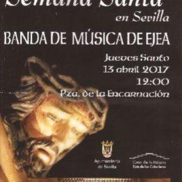 CONCIERTO JUVES  SANTO EN SEVILLA Plaza de la Encarnación