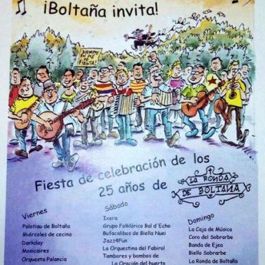 PARTICIPACION 25 ANIVERSARIO DE LA RONDA DE BOLTAÑA