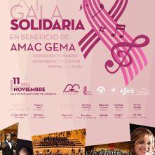 XI GALA SOLIDARIA EN BENEFICIO DE AMAC GEMA