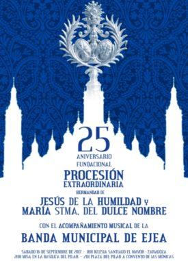 PROCESION EXTRAORDINARIA DE 25 ANIVERSARIO  FUNDACIONAL DE LA HERMANDAD Y LA COFADRIA DE LOS NAZARENOS