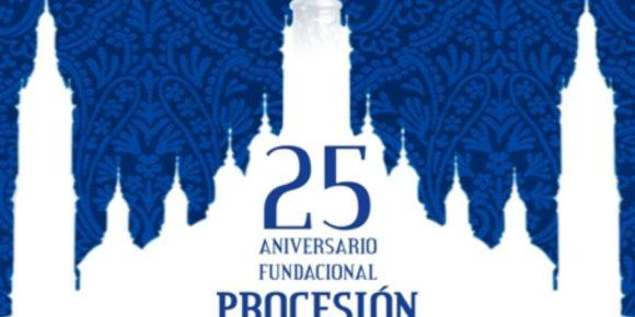 Procesion Extraordinaria del 25 Aniversario  de la  Cofadria de los Nazarenos