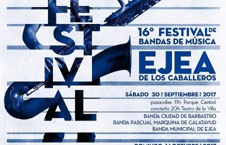 XVI  FESTIVAL DE  BANDAS DE EJEA