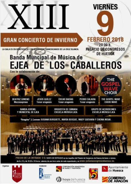 XIII GRAN CONCIERTO DE INVIERNO Ciudad de Huesca