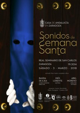 """CONCIERTO """"SONIDOS DE SEMANA SANTA"""" 2018."""