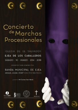 CONCIERTO  DE MARCHAS PROCESIONALES EN EJEA