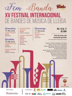 XV FESTIBAL INTERNACIONAL DE BANDAS DE MUSICA DE LERIDA