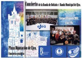 CONCIERTO RONDA DE BOLTAÑA & BANDA MUNICIPAL DE EJEA