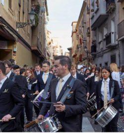 ACOMPAÑAMIENTO MUSICAL DE DOMINGO DE RAMOS EN ZARAGOZA 2019