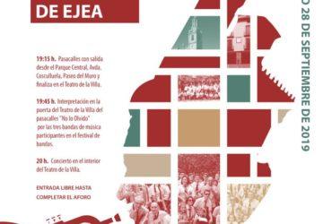 17º FESTIVAL DE BANDAS DE EJEA 2019