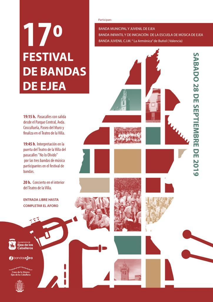 17º FESTIBAL DE BANDAS DE EJEA 2019