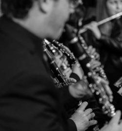 Detalle manos clarinete Banda Municipal de Ejea
