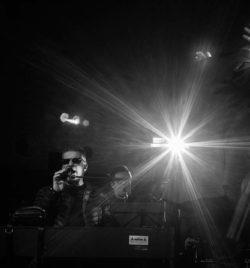 Javier Comenge y Serafín Zubirí en un momento de los ensayos del concierto de Navidad